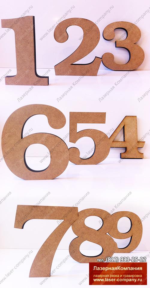 Набор цифр от 1 до 9 стандартный