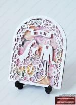 """Свадебное приглашение """"Свадебная арка"""""""