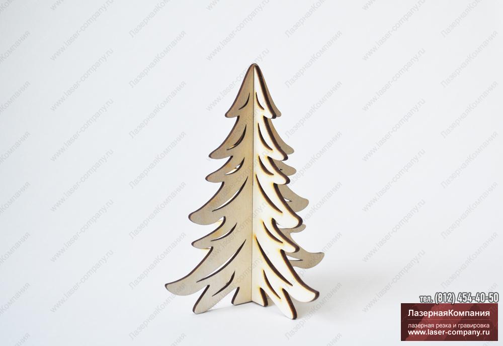 """Новогодняя Ель """"Лесная"""" из дерева"""
