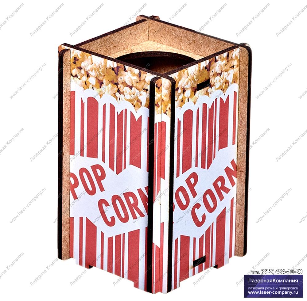 """Бокс для ручек и карандашей """"Pop corn"""""""