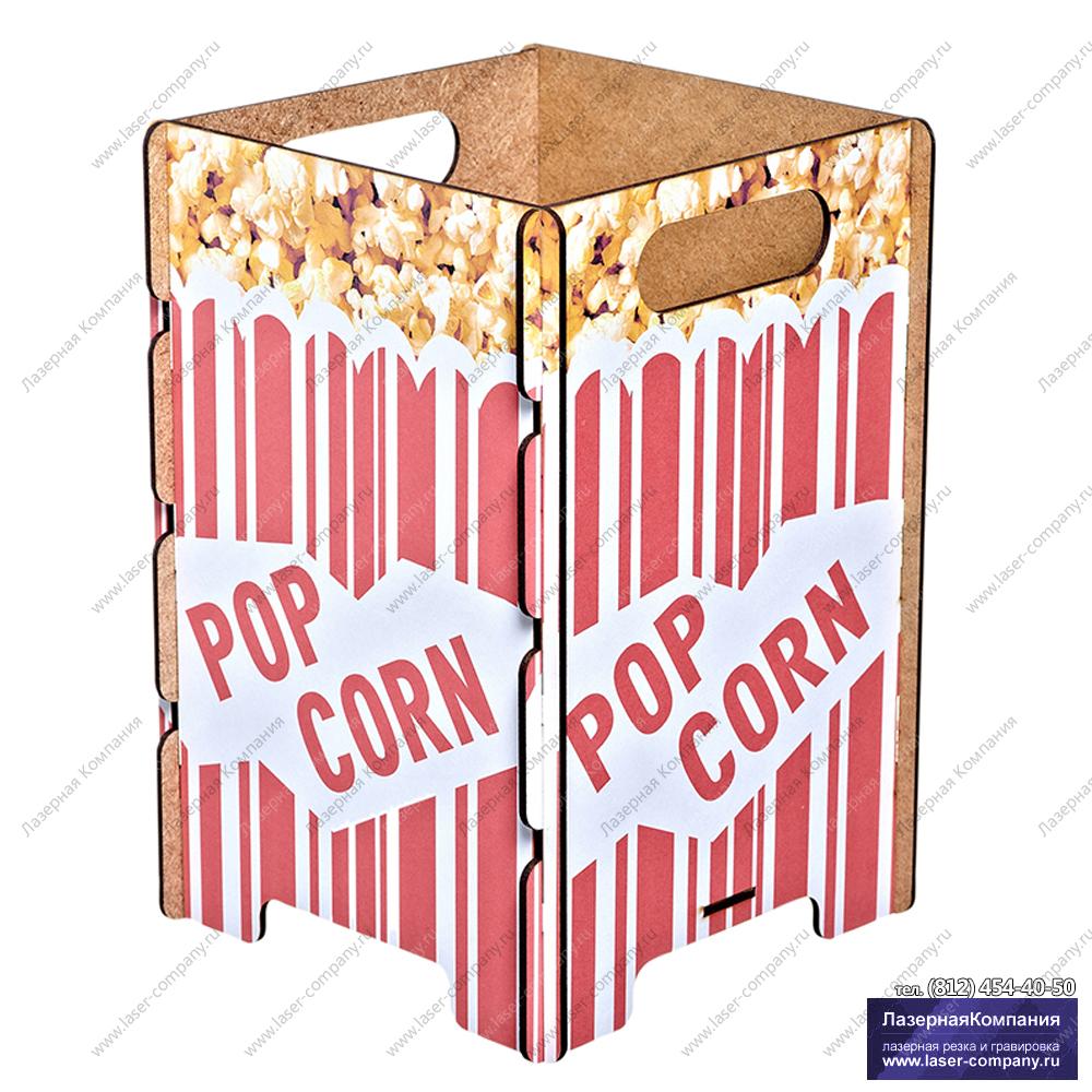 """Оригинальная корзина для бумаг """"Попкорн"""""""