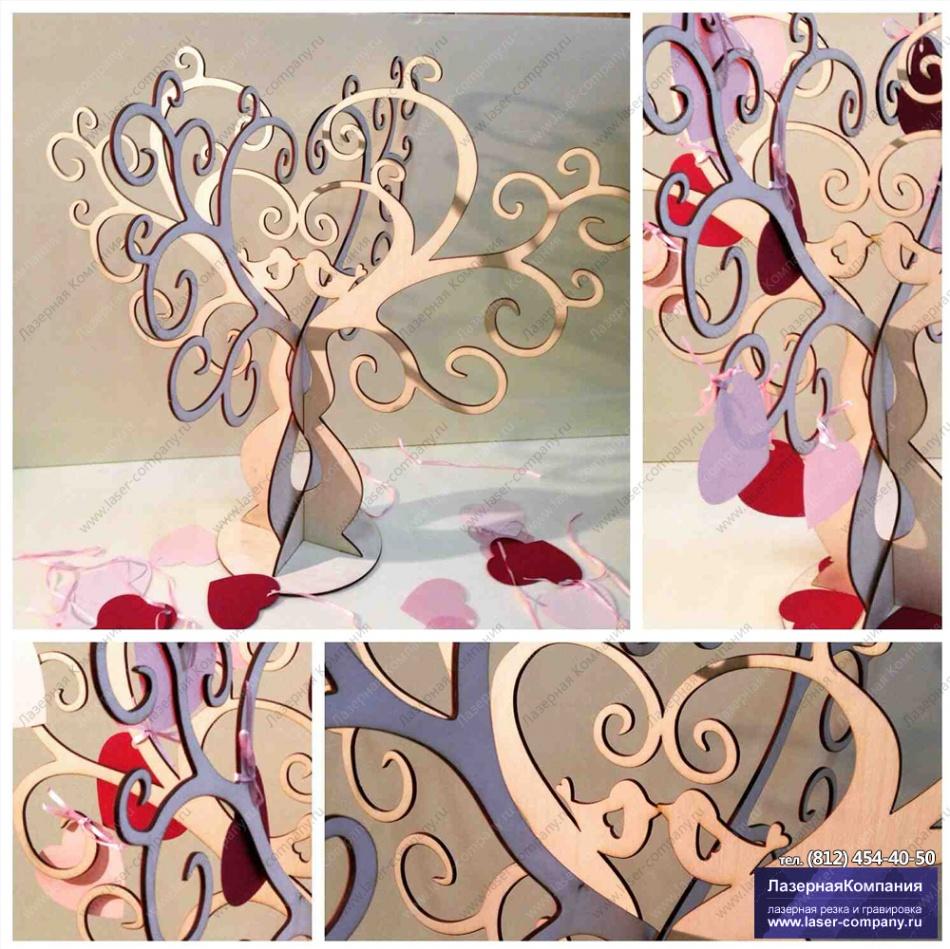 """Свадебное дерево для пожеланий """"Гармония"""""""