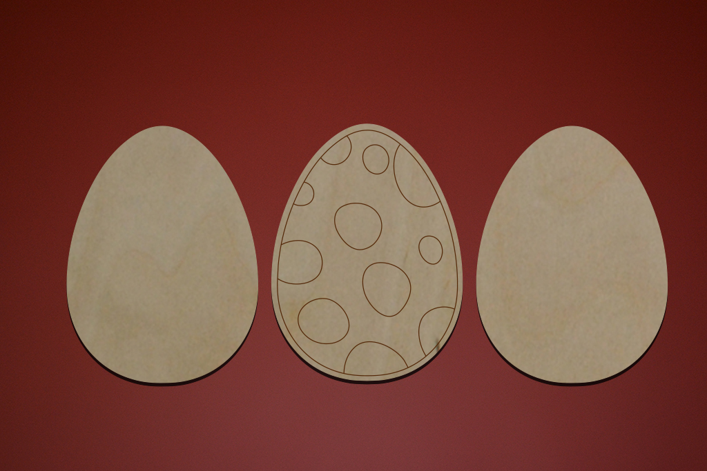 "Набор Пасхальные яйца ""Кружочки"""