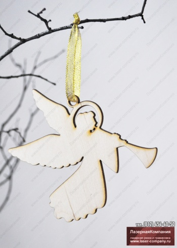 "Декор ""Ангел"" из дерева"