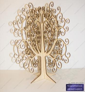 Дерево для пожеланий свадебное