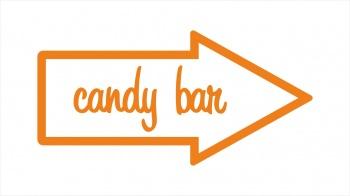 """Указатель-стрелка #2 """"Candy bar"""""""