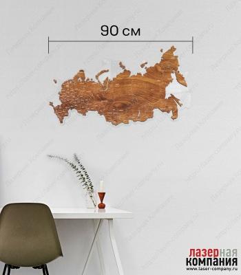 Карта России (монолит)