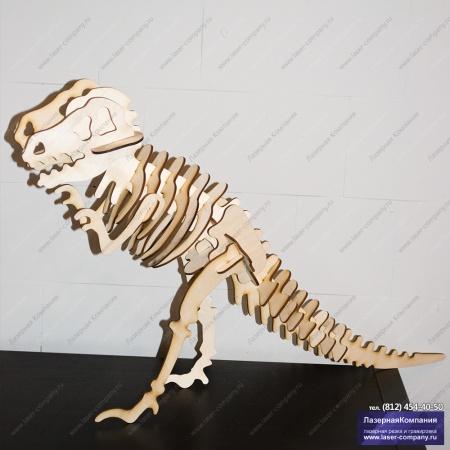 """Сборная модель """"Скелет Тираннозавра"""""""