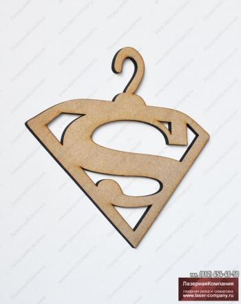 Плечики супермэн из дерева